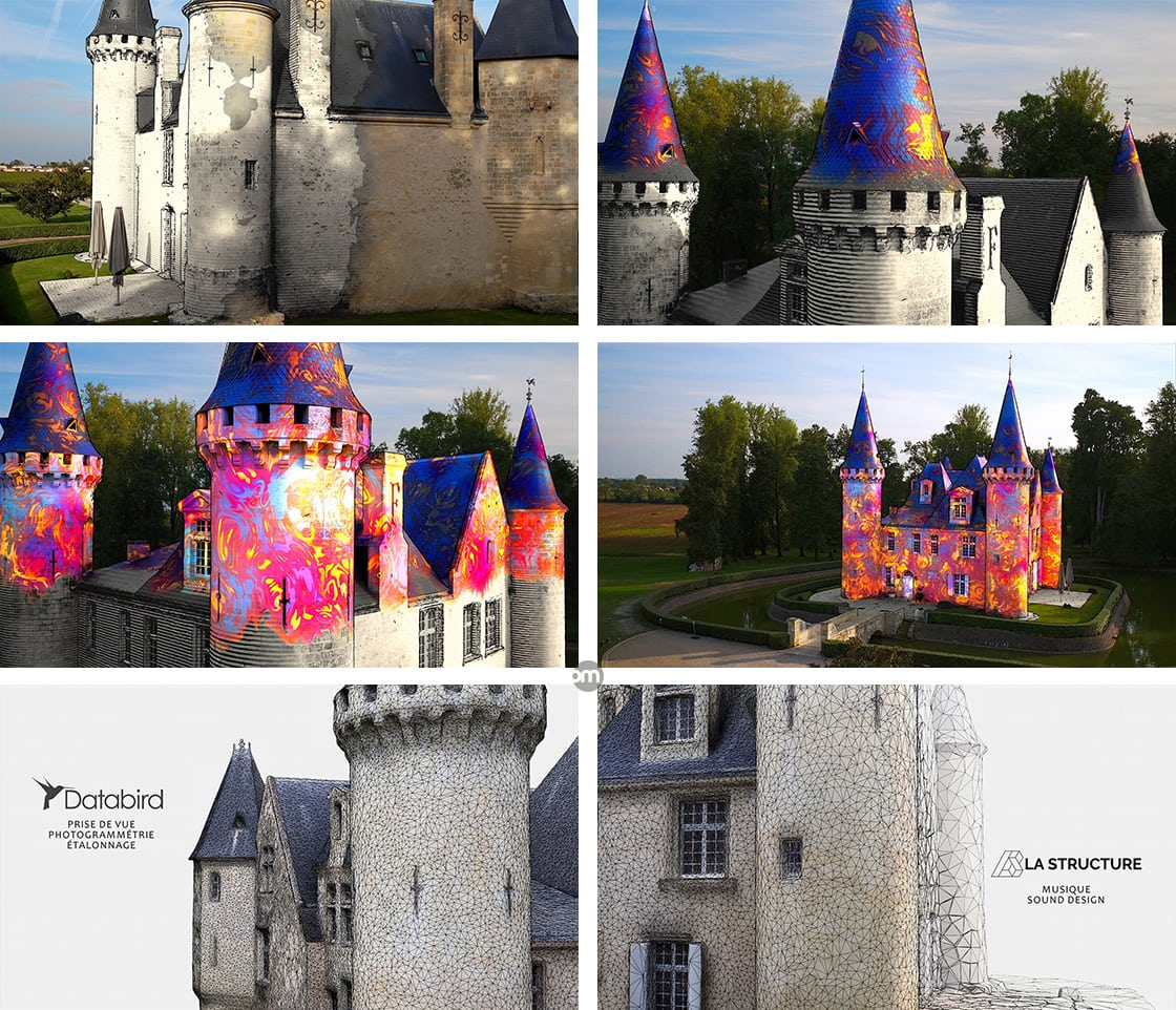 Une visite inattendue au château d'Agassac (photogrammétrie 3D)