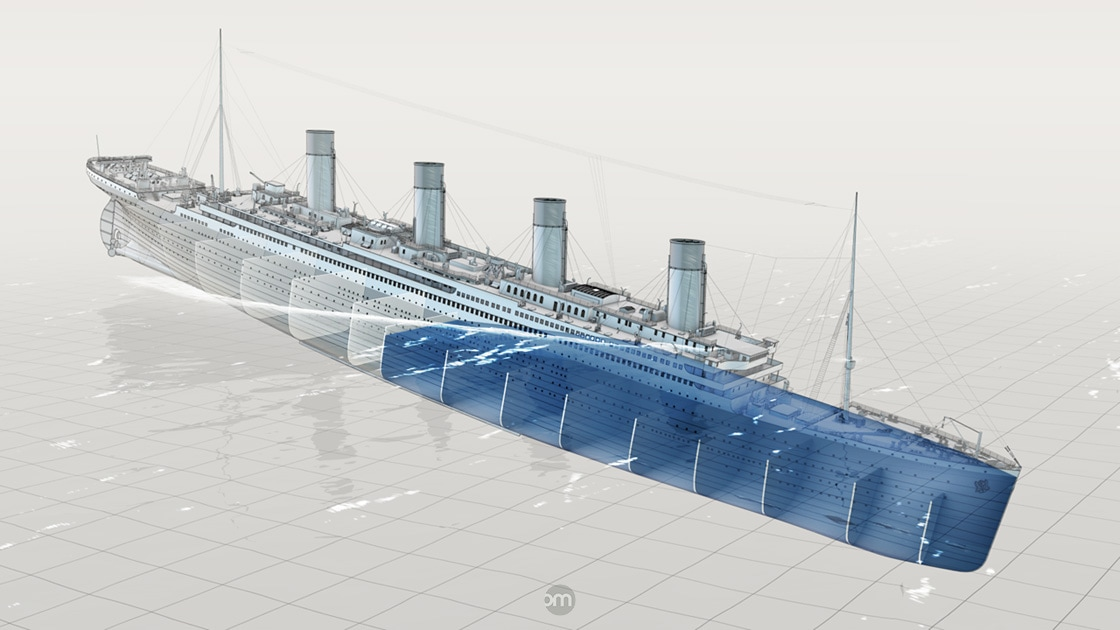 Lnigme Titanic 2011 Olivier MICHON Graphiste 3D